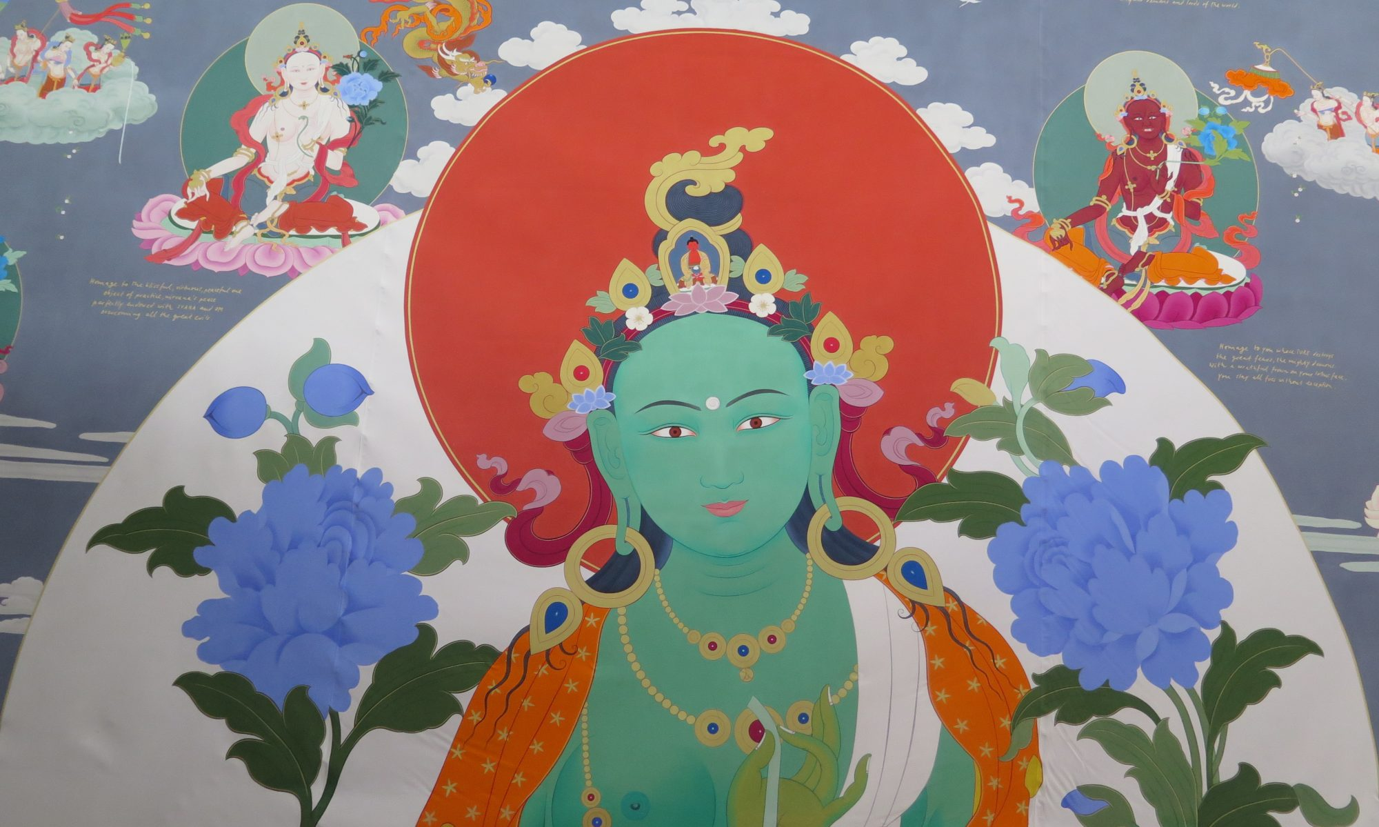 The 21 Taras Thangka